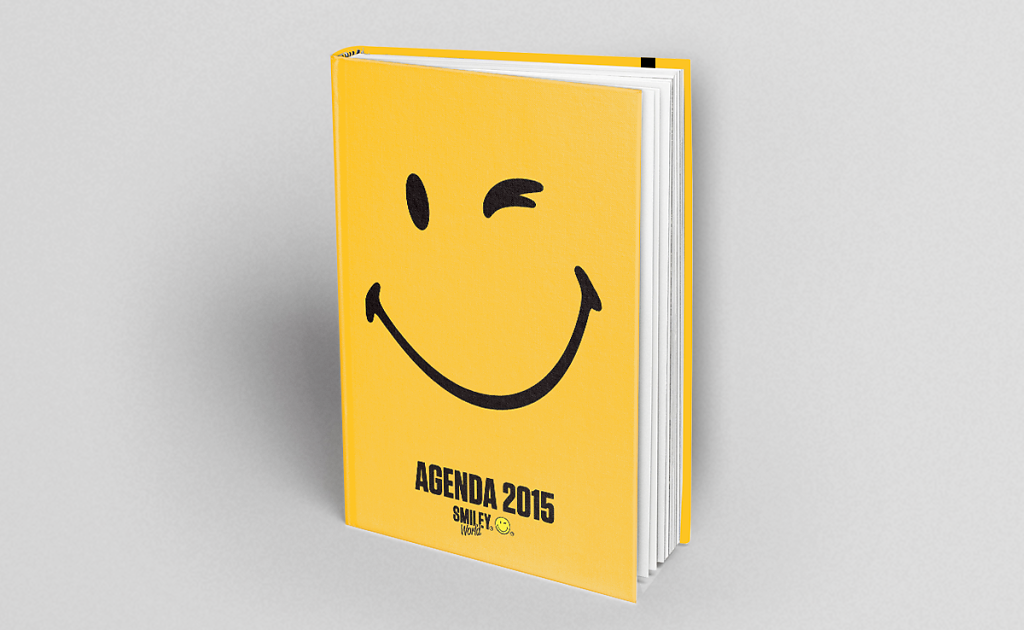 Agenda Smiley - Les Livres du Dragon d'Or - Laetitia Thomas