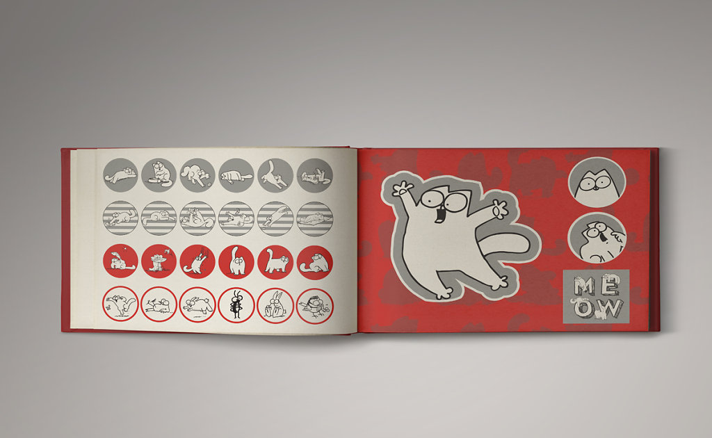 Stickers Simon's Cat - Les Livres du Dragon d'Or