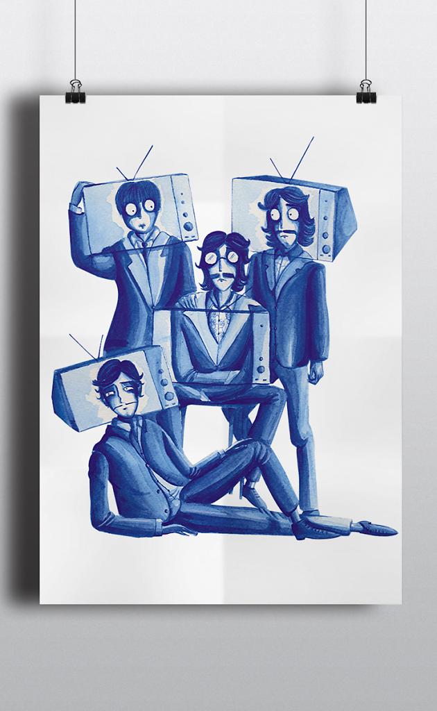 The Beatles pour Télérama